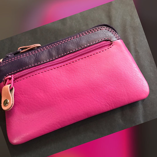 Visconti leather coin purse