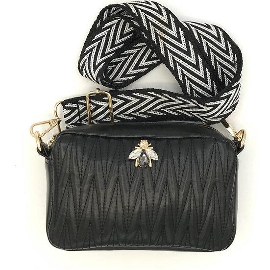 Sixton - Small Vegan Leather Crossbody Bag