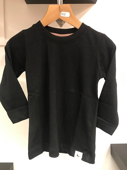 Plain Long Sleeved Top