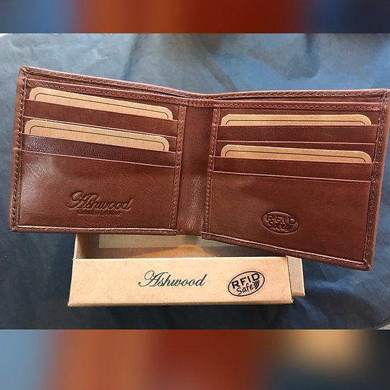 1211-VT RFID Mens Wallet Tan