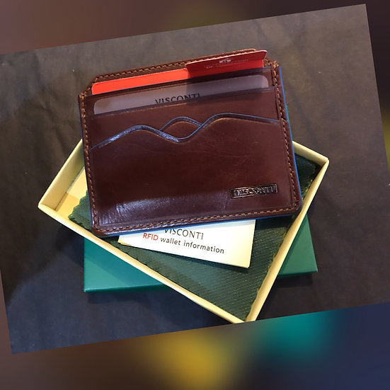 MZ-1 Gents Leather Card Holder