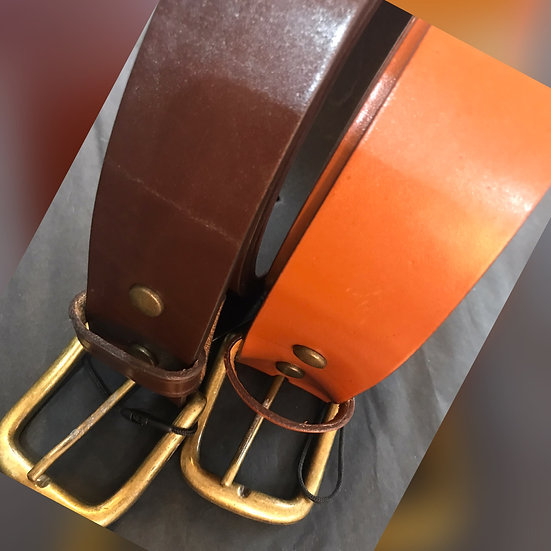 Ashwood Leather Men's Belts