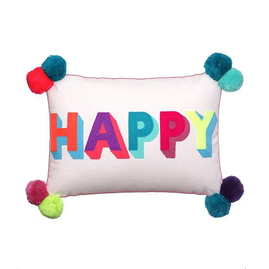 Bombay duck Happy cushion