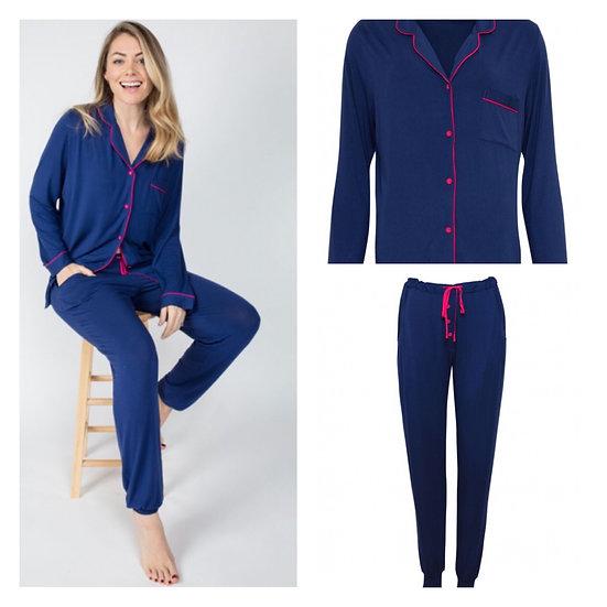 Cyberjammies - Ariana Revere Jersey Pyjama Set