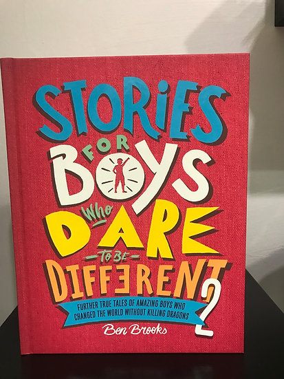 Book-Stories for Boys who Dare to be Different 2