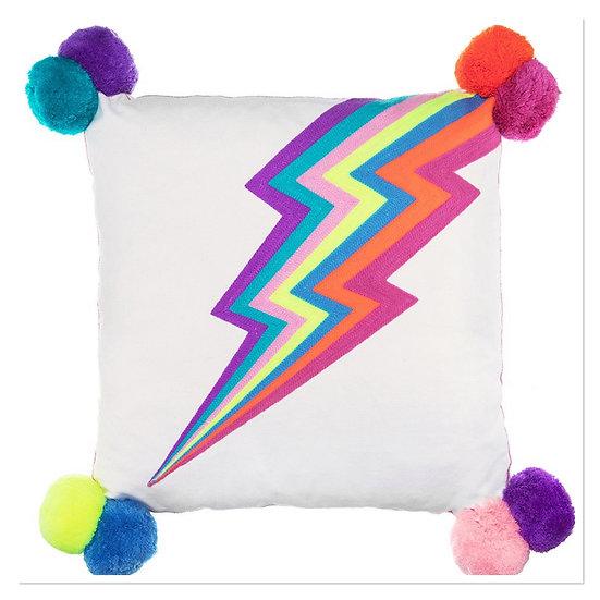 Bombay duck Lightning Bolt Square Cushion