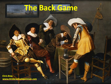 Lecture: The Back Game