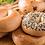 Thumbnail: 1/2 Dozen - Hemp Seed Honey Bagels