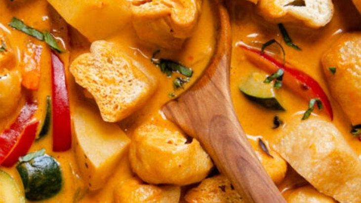450 grams - Tofu Thai Curry