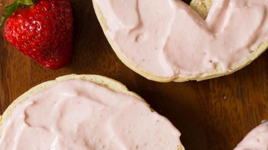 1 Jar 200grams - Strawberry Whipped Cream Cheese