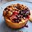 Thumbnail: 1/2 Dozen Individual Sized - Mixed Berry Crumble Pies