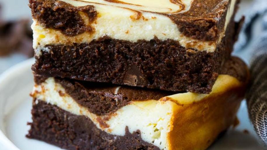 1/2 Dozen - Cheese Cake Brownies