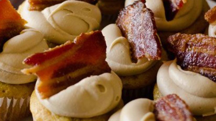 1/2 Dozen - Maple Bacon Cupcakes with Beer Butter Cream