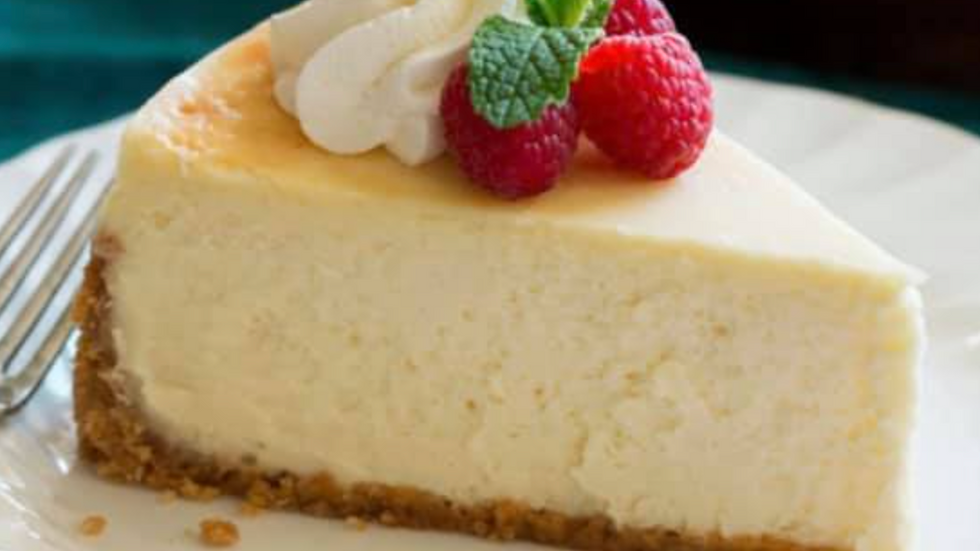 Large - New York Cheese Cake with Fruit Topping