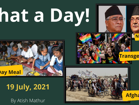 What a Day | 19 July 2021 | Daily Current Affairs | The Hindu
