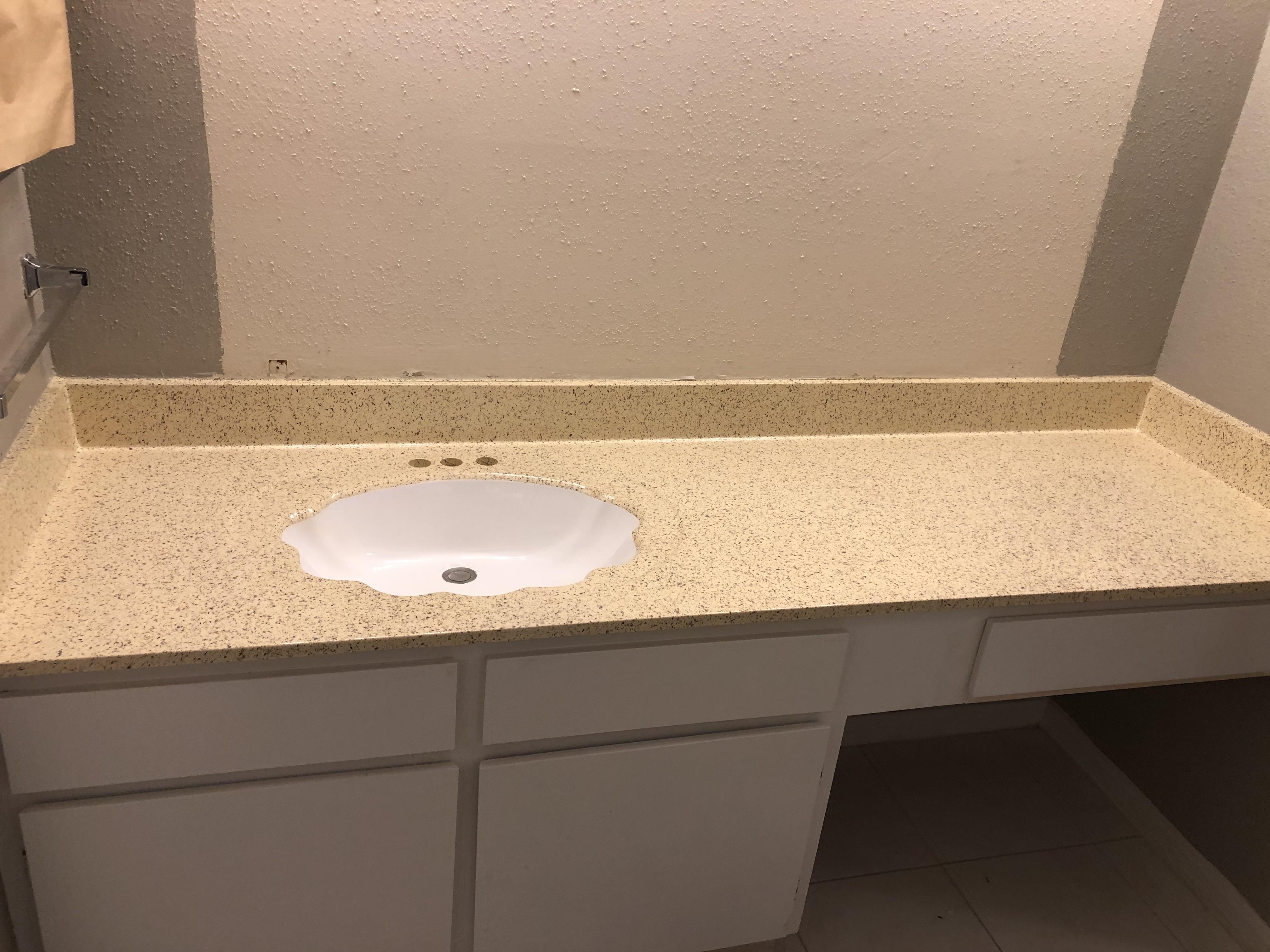 Refinish Vanity Countertop