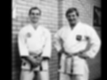 Steve with Sensei Ticky Donovan, O.B.E