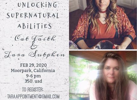 Unlocking Supernatural Abilities