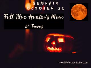 Full Blue Hunters Moon