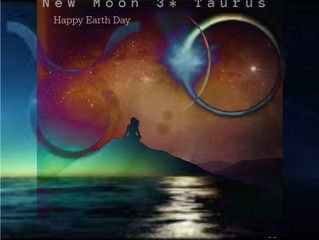 New Moon 3* Taurus & Earth Da
