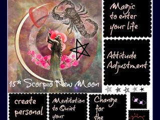 15* Scorpio New Moon