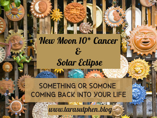 New Moon 10* Cancer & Solar Eclipse