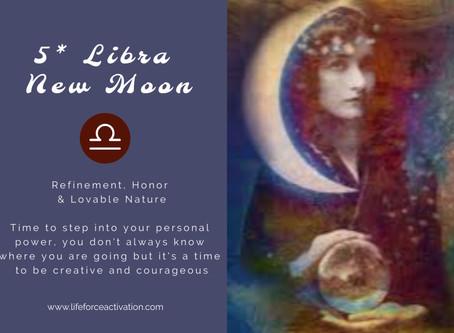 5* Libra New Moon
