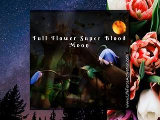 Full Flower Super Blood Moon