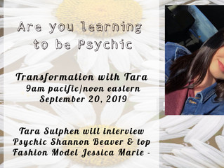 Are you learning to be psychic