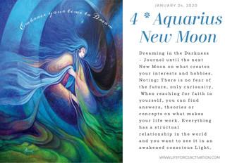 4* Aquarius New Moon