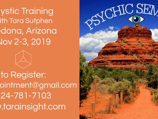 Sedona Psychic Seminar