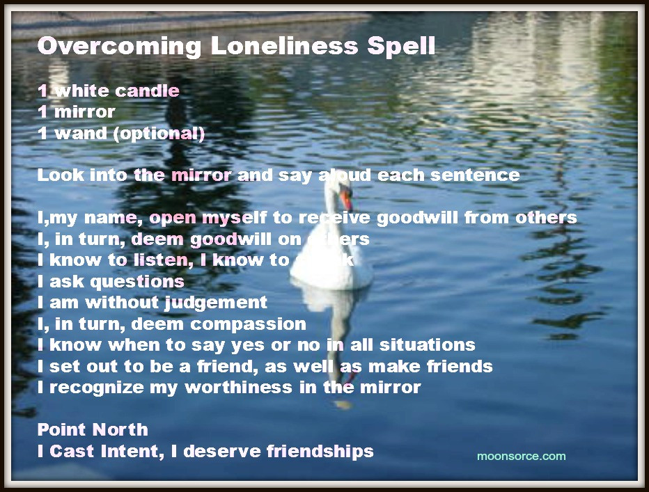 Overcoming Loneliness Spell