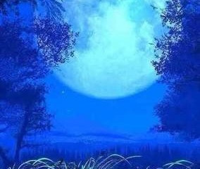 Happy Full Blue Moon