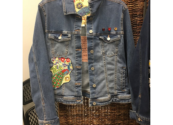 Enchanted Peacock Jacket