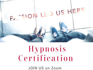 Hypnosis Certification on ZOOM