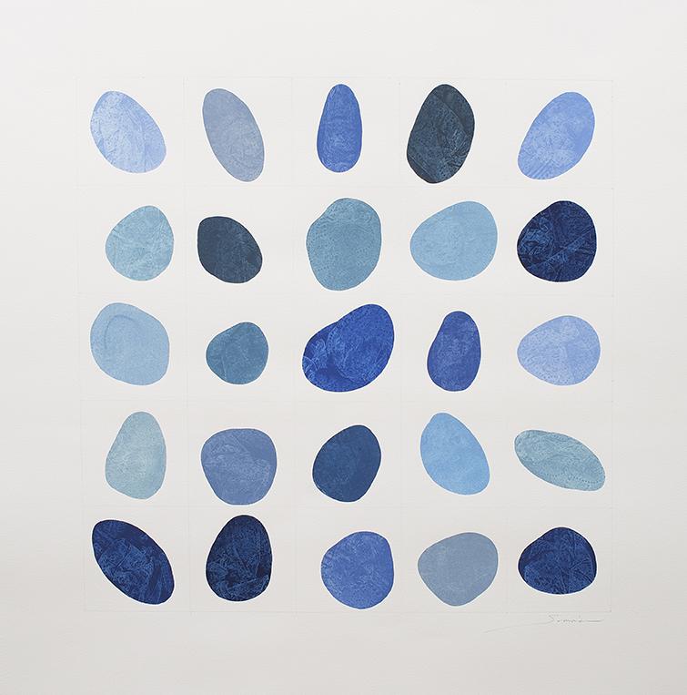 Blues5x5_II_29x29inches_GouacheonPaper.jpg