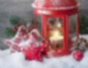 Weihnachtsstern-Dekorationen