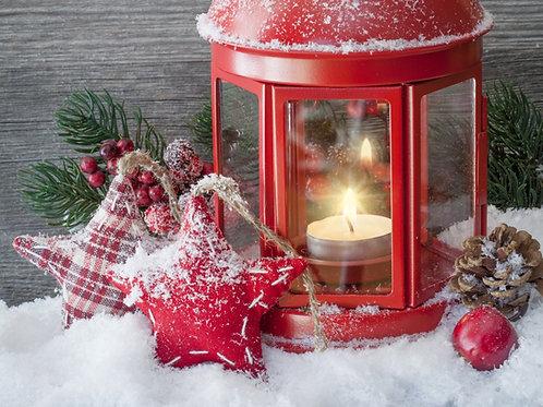 Christmas Eve - Christmas Tree, Fire Embers and Christmas Traditions -  Wax Mel