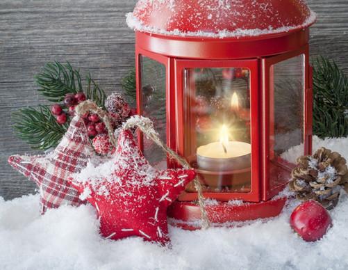 Vánoční hvězda dekorace