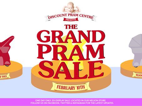 The Grand Pram Sale!