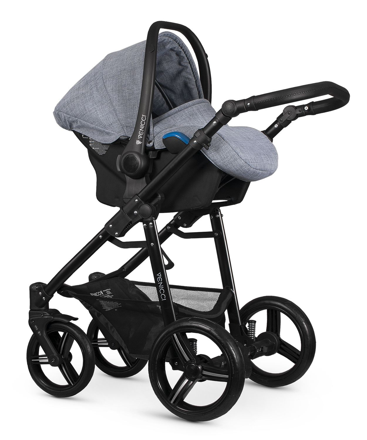 venicci-soft-med-grey-carseat-black-fram