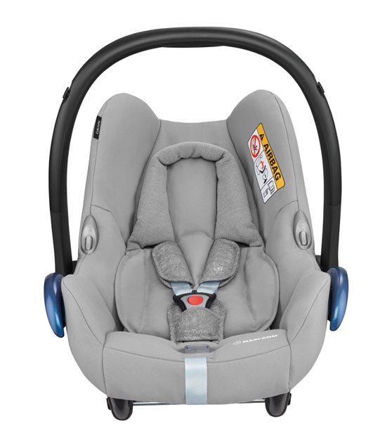 Grey car seat
