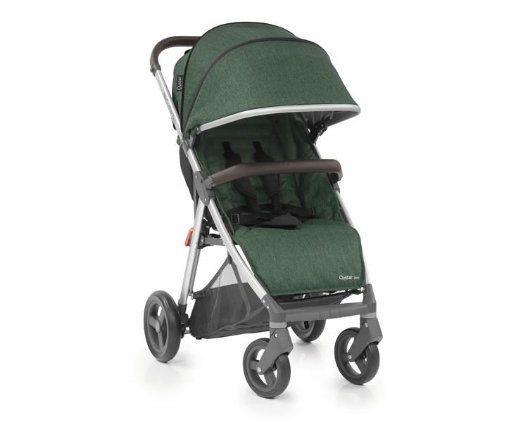 oyster-zero-alpine-green-stroller