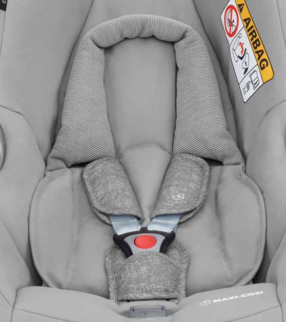 Close-up of car seat