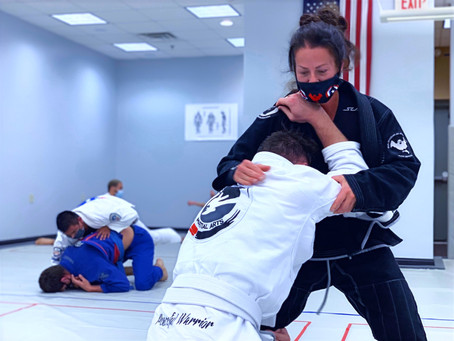 BJJ in a Girls World