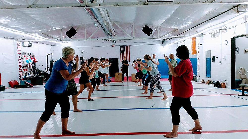 Women's self defense in Kalamazoo. Martial arts in Kalamazoo and Portage.