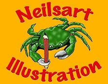 Neilsart Illustration Logo