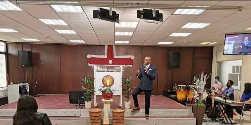1st Church Service 25th April 2021