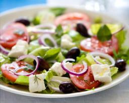 Griekse salada met Griekse olijfolie van Olimato uit Eindhoven