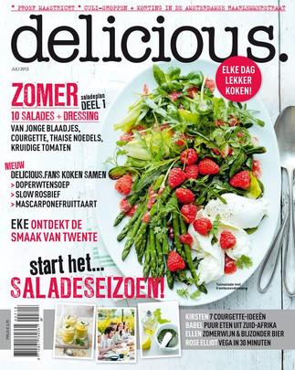 Griekse olijfolie van Olimato heeft met een actie gestaan in het landelijk food magazine Delicious.